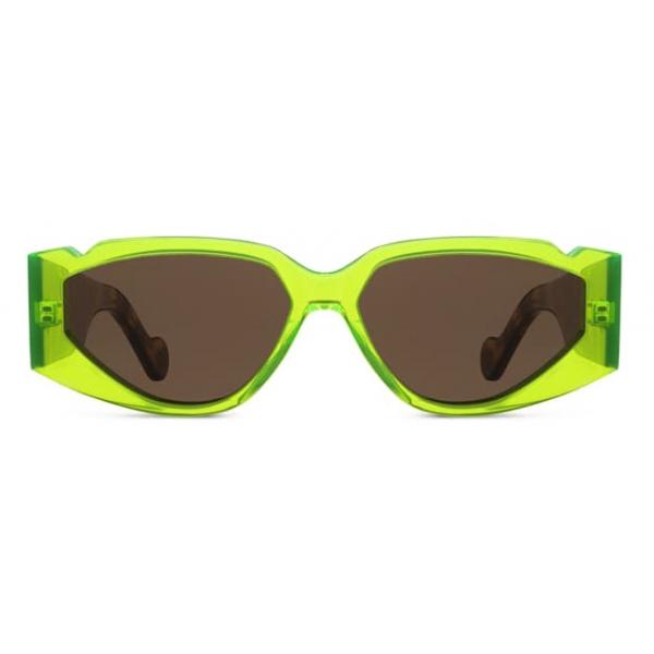 Fenty - Occhiali da Sole Off Record - Acid Green - Occhiali da Sole - Rihanna Official - Fenty Eyewear