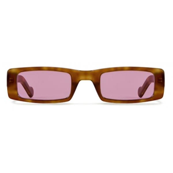 Fenty - Trouble Sunglasses - Blond Havana - Sunglasses - Rihanna Official - Fenty Eyewear