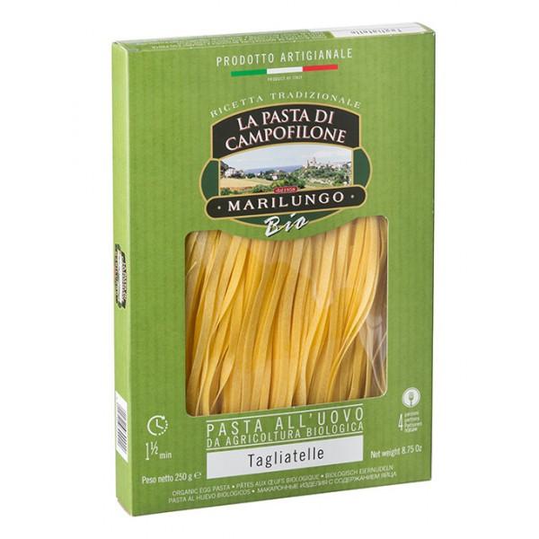 Pasta Marilungo - Tagliatelle Organic - Organic Campofilone - Pasta of Campofilone