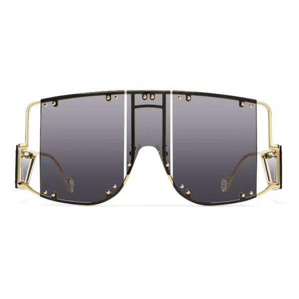 Fenty - Blockt Mask - Black Smoke - Sunglasses - Rihanna Official - Fenty Eyewear