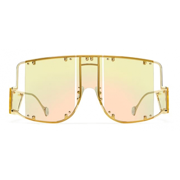 Fenty - Blockt Mask - Chardonnay - Occhiali da Sole - Rihanna Official - Fenty Eyewear