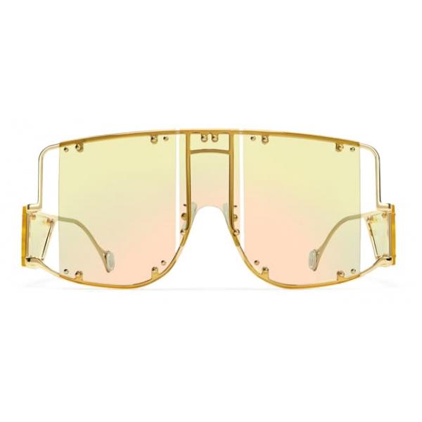 Fenty - Blockt Mask - Chardonnay - Sunglasses - Rihanna Official - Fenty Eyewear