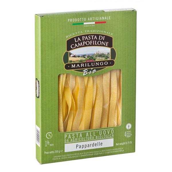 Pasta Marilungo - Pappardelle Organic - Organic Campofilone - Pasta of Campofilone