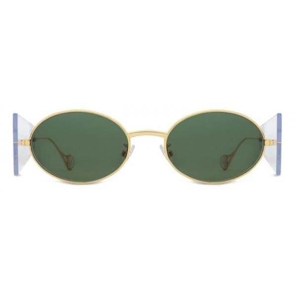 Fenty - Side Note Sunglasses - Camo Green - Sunglasses - Rihanna Official - Fenty Eyewear