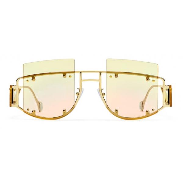 Fenty - Occhiali da Sole Antisocial - Chardonnay - Occhiali da Sole - Rihanna Official - Fenty Eyewear