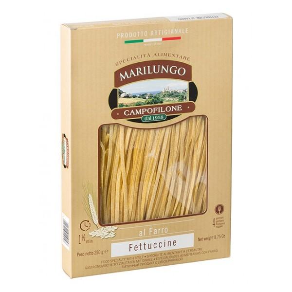 Pasta Marilungo - Fettuccine al Spelt - Food Specialties - Pasta of Campofilone