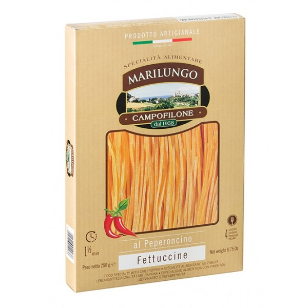 Pasta Marilungo - Fettuccine at Chili - Food Specialties - Pasta of Campofilone