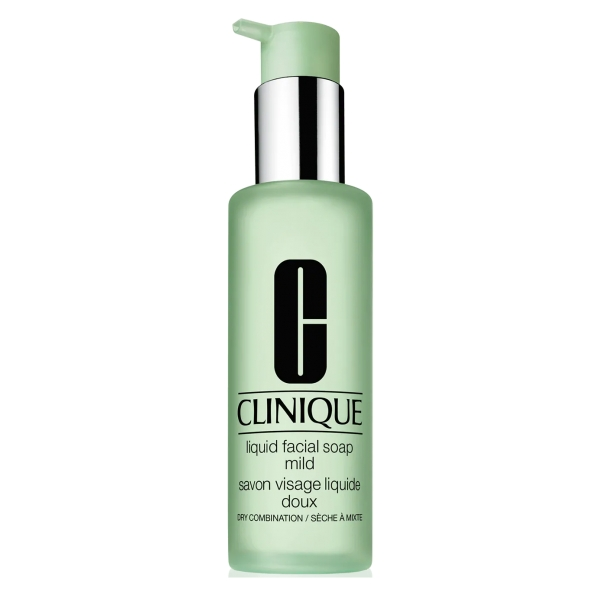 Clinique - Liquid Facial Soap - Facial Cleanser - Dry Combination 200 ml - Luxury