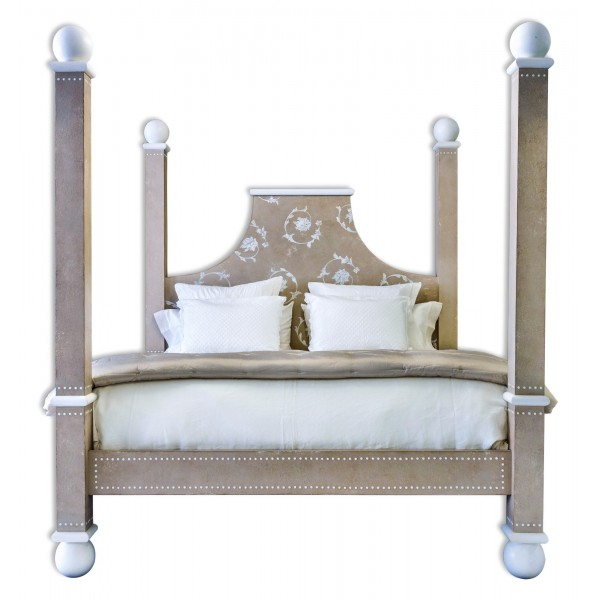 Porte italia interiors bed star jasmin bed king size for Porte italia