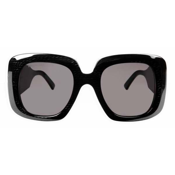 Balenciaga - Blow Square Sunglasses - Black - Sunglasses - Balenciaga Eyewear