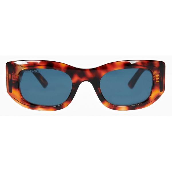 Balenciaga - Occhiali da Sole Blow Rectangle - Havana - Occhiali da Sole - Balenciaga Eyewear