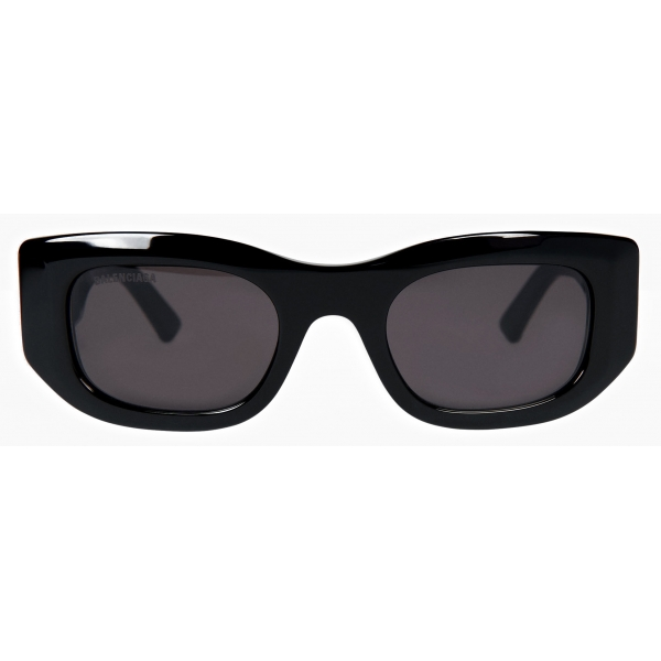 Balenciaga - Blow Rectangle Sunglasses - Black - Sunglasses - Balenciaga Eyewear