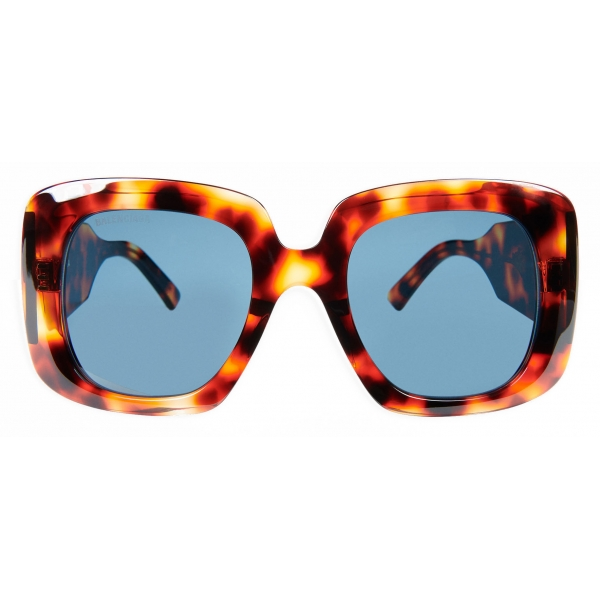 Balenciaga - Occhiali da Sole Blow Square - Havana - Occhiali da Sole - Balenciaga Eyewear