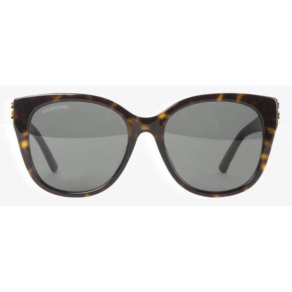 Balenciaga - Occhiali da Sole Dynasty Modello Cat-Eye Aderente - Havana Scuro - Occhiali da Sole - Balenciaga Eyewear