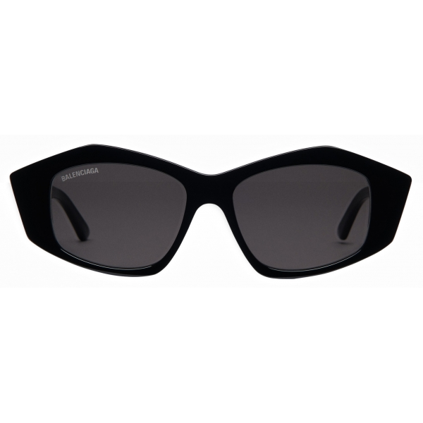 Balenciaga - Cut Square Sunglasses - Black - Sunglasses - Balenciaga Eyewear