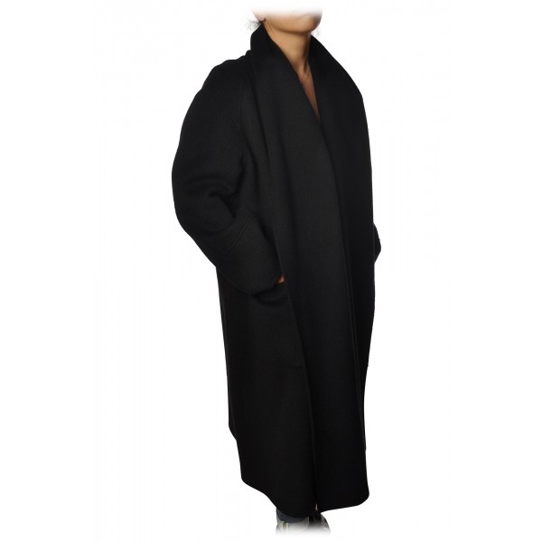 Elisabetta Franchi - Cappotto - Nero - Giacca - Made in Italy - Luxury Exclusive Collection