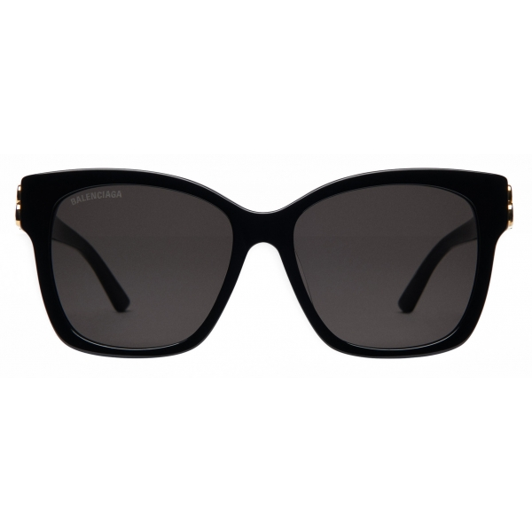 Balenciaga - Adjusted Fit Dynasty Square Sunglasses - Black - Sunglasses - Balenciaga Eyewear