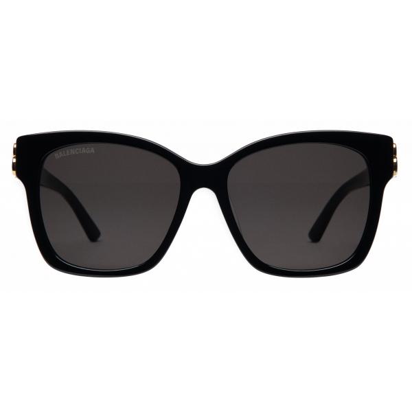 Balenciaga - Occhiali da Sole Dynasty Square Dalla Linea Aderente - Nero - Occhiali da Sole - Balenciaga Eyewear