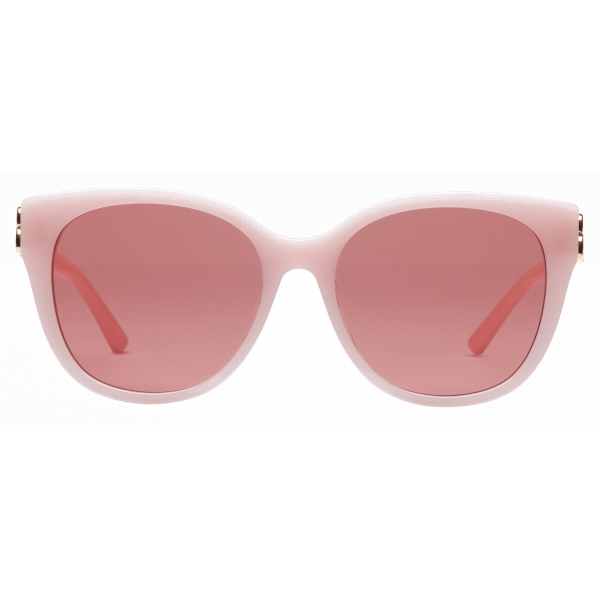 Balenciaga - Adjusted Fit Dynasty Cat Sunglasses - Pink - Sunglasses - Balenciaga Eyewear