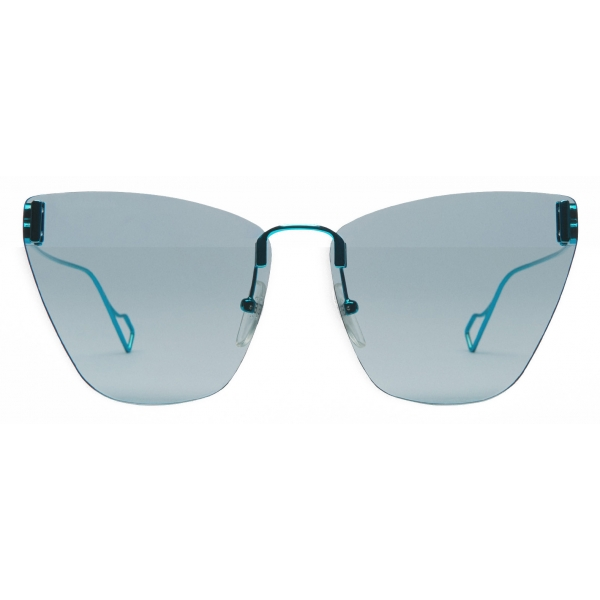 Balenciaga - Light Cat Sunglasses - Turquoise - Sunglasses - Balenciaga Eyewear
