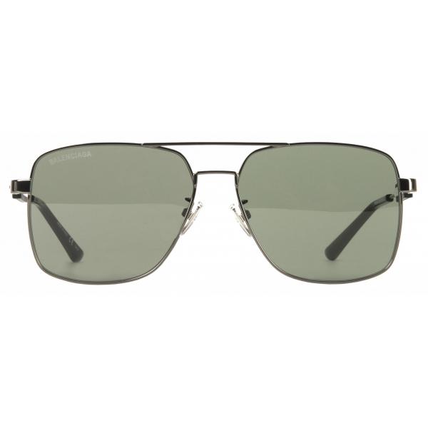 Balenciaga - Occhiali da Sole Tag Navigator - Khaki - Occhiali da Sole - Balenciaga Eyewear