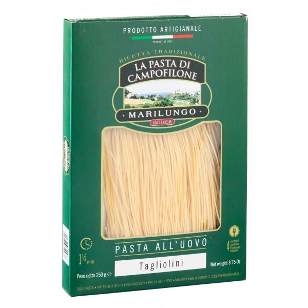 Pasta Marilungo - Tagliolini - Pasta of Campofilone