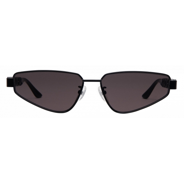Balenciaga - Typo Rectangle Sunglasses - Black - Sunglasses - Balenciaga Eyewear