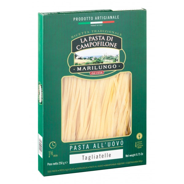 Pasta Marilungo - Tagliatelle - Pasta of Campofilone