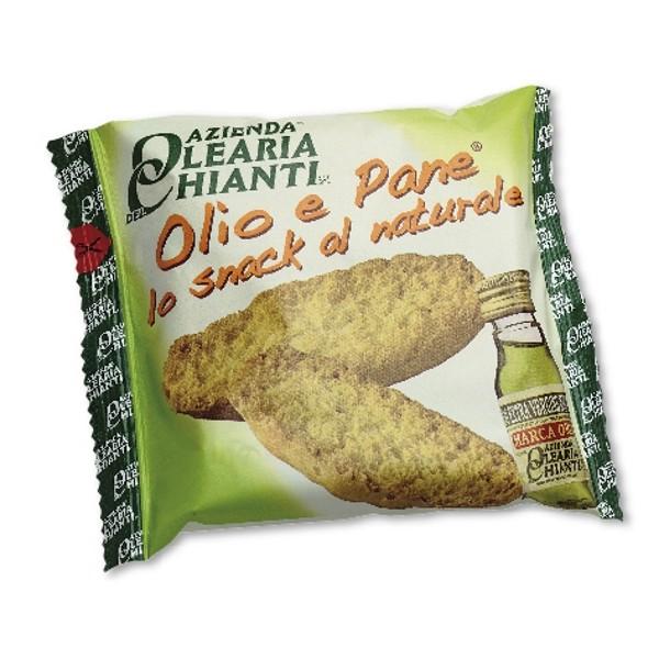 Azienda Olearia del Chianti - Olio e Pane - Lo Snack al Naturale - 72 pz