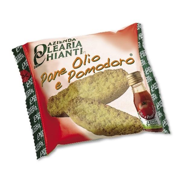 Azienda Olearia del Chianti - Pane Olio e Pomodoro - Lo Snack al Naturale - 72 pz