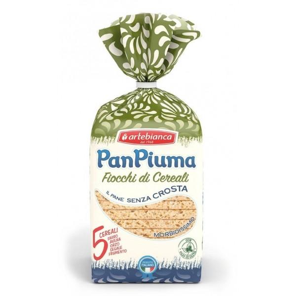 Pan Piuma - Arte Bianca - Fiocchi di Cereali - 5 Cereali - Farro Avena Orzo Segale Frumento