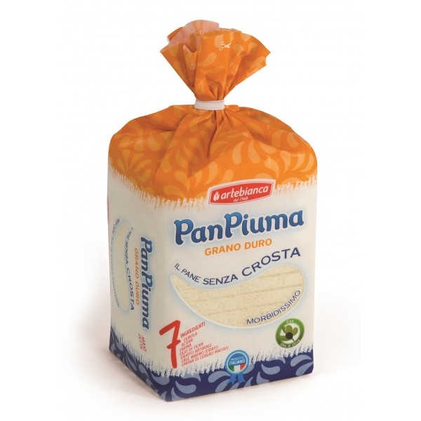 Pan Piuma - Arte Bianca - Durum Wheat - 7 Ingredients