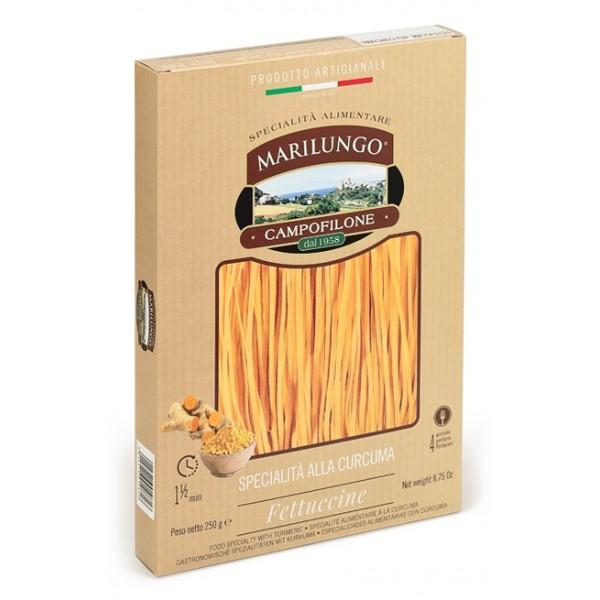 Pasta Marilungo - Fettuccine at Turmeric - Food Specialties - Pasta of Campofilone