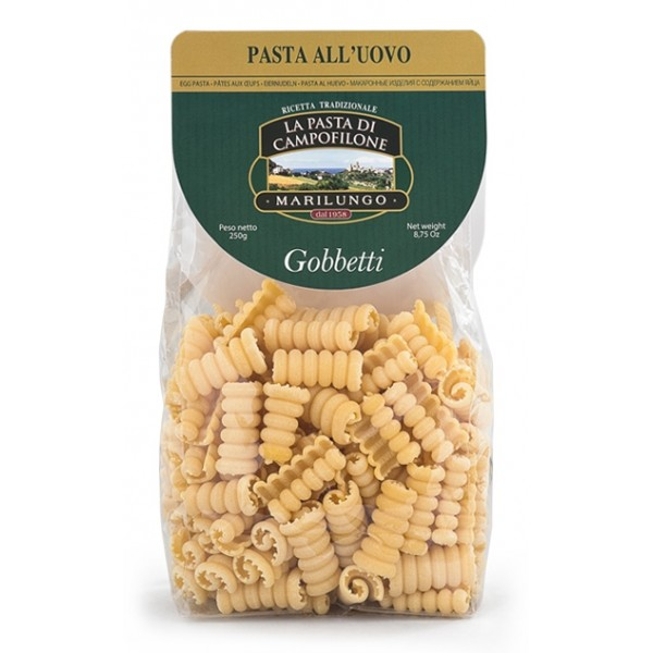 Pasta Marilungo - Gobbetti - Short Pasta Drawn - Pasta of Campofilone