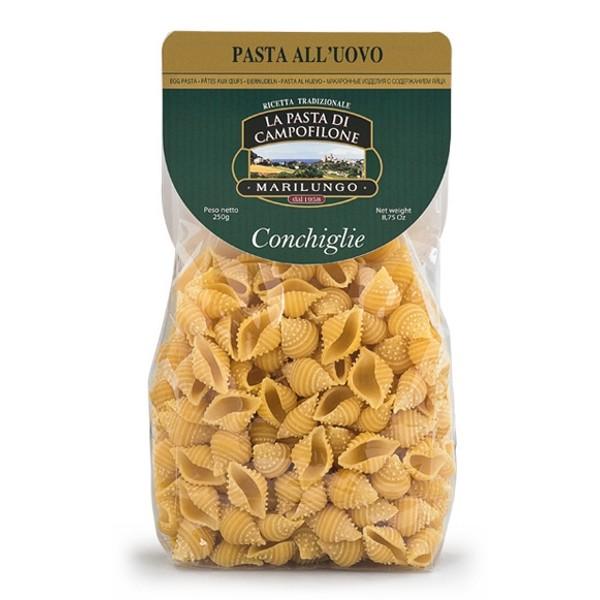 Pasta Marilungo - Conchiglie - Short Pasta Drawn - Pasta of Campofilone