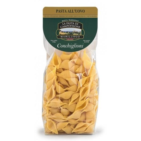 Pasta Marilungo - Conchiglioni - Short Pasta Drawn - Pasta of Campofilone - Avvenice