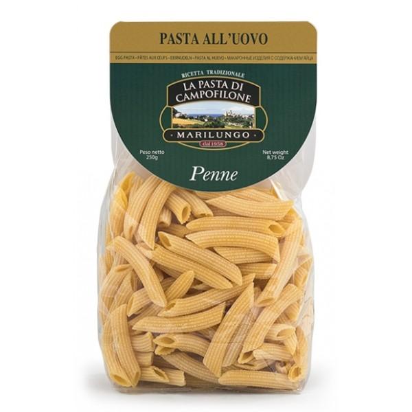 Pasta Marilungo - Penne - Short Pasta Drawn - Pasta of Campofilone