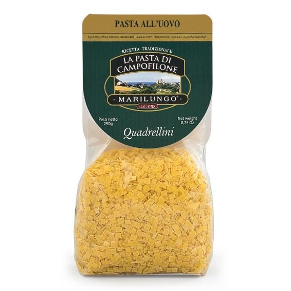 Pasta Marilungo - Quadrellini - Short Pasta Drawn - Pasta of Campofilone