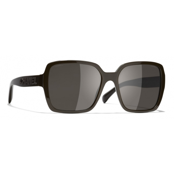 Chanel - Square Sunglasses - Brown - Chanel Eyewear