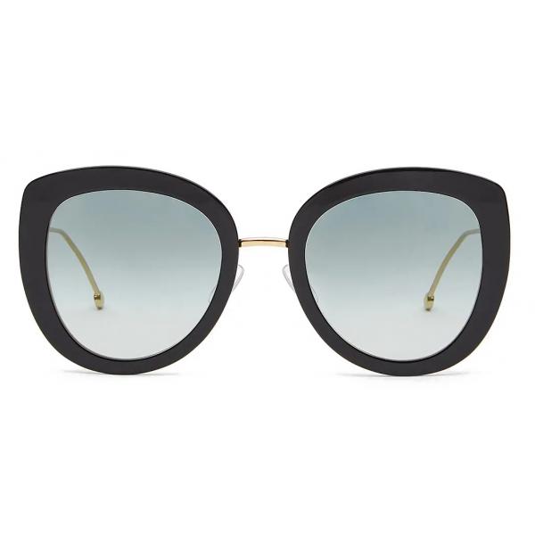 Fendi - F is Fendi - Round Sunglasses - Black - Sunglasses - Fendi Eyewear