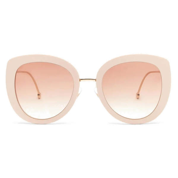 Fendi - F is Fendi - Round Sunglasses - Pink - Sunglasses - Fendi Eyewear