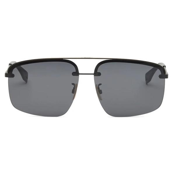 Fendi - Fendi Pack - Rectangular Sunglasses - Black - Sunglasses - Fendi Eyewear