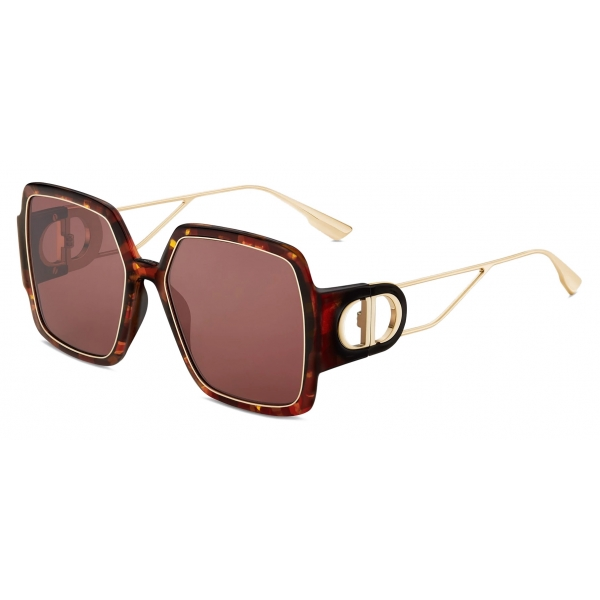 Dior - Occhiali da Sole - 30Montaigne2 - Marroni Tartaruga - Dior Eyewear