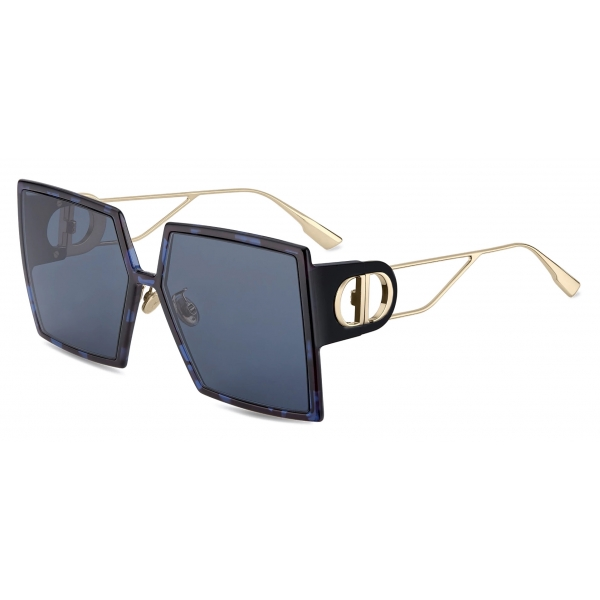 Dior - Occhiali da Sole - 30Montaigne - Blu Tartaruga - Dior Eyewear
