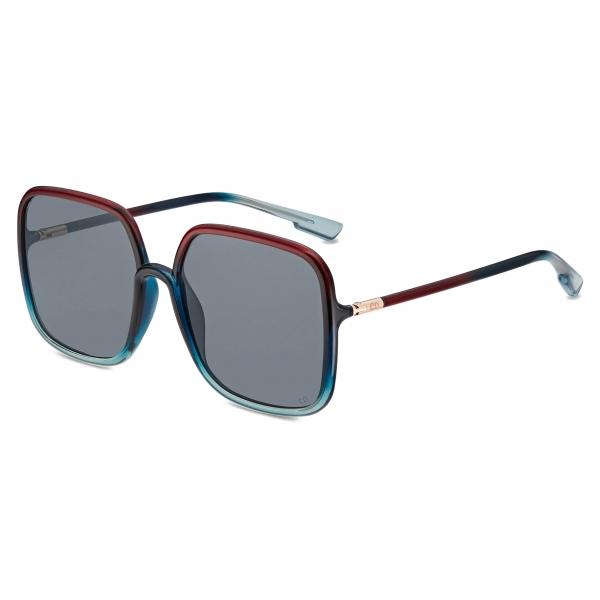 Dior - Occhiali da Sole - DiorSoStellaire1 - Rosso Blu - Dior Eyewear
