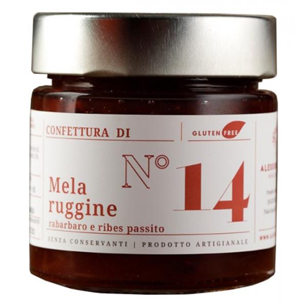 Alessio Brusadin - Delizia di Mela Bella di Bosco, Rabarbaro e Ribes Passito - Confetture Speciali - Composte Artigianali