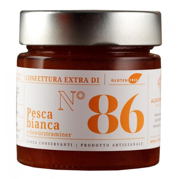 Alessio Brusadin - Confettura Extra di Pesche Bianche e Gewürztraminer - Confetture Speciali - Composte Dolci Artigianali