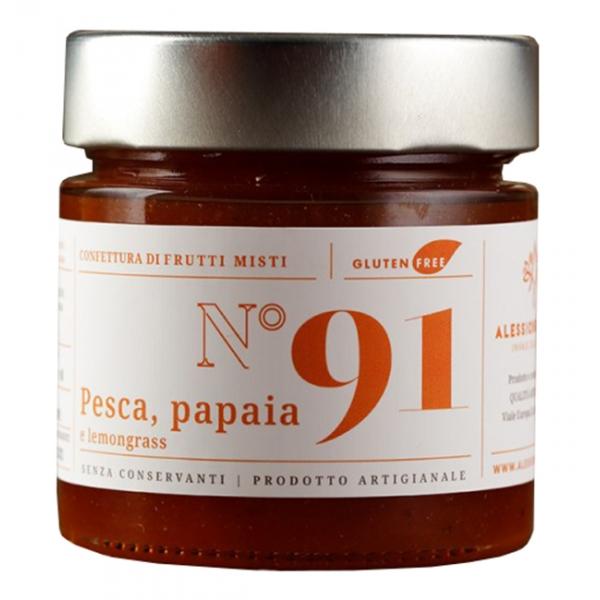 Alessio Brusadin - Confettura Extra di Pesca, Papaia e Lemongrass - Confetture Speciali - Composte Dolci Artigianali