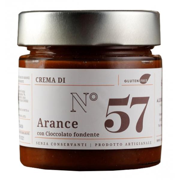 Alessio Brusadin - Crema Extra d'Arance di Sicilia con Cioccolato Fondente - Creme Extra al Cioccolato - Creme Artigianali