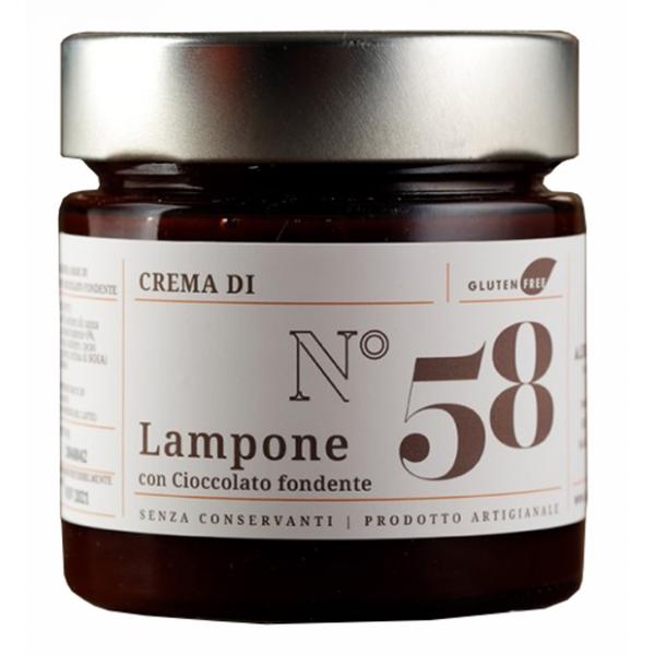 Alessio Brusadin - Crema Extra di Lamponi e Cioccolato Fondente - Creme Extra al Cioccolato - Creme Artigianali